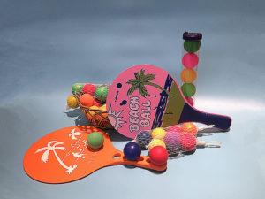 Beach paddle set